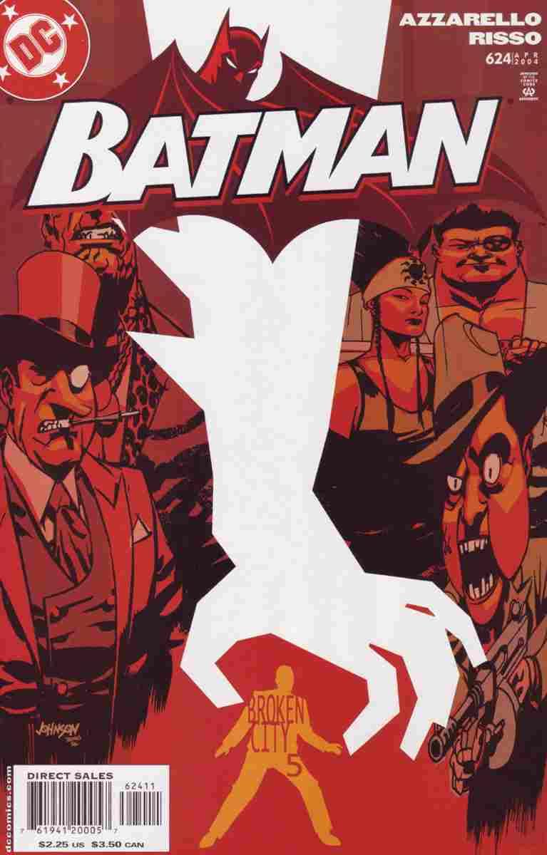 Batman comic issue 624