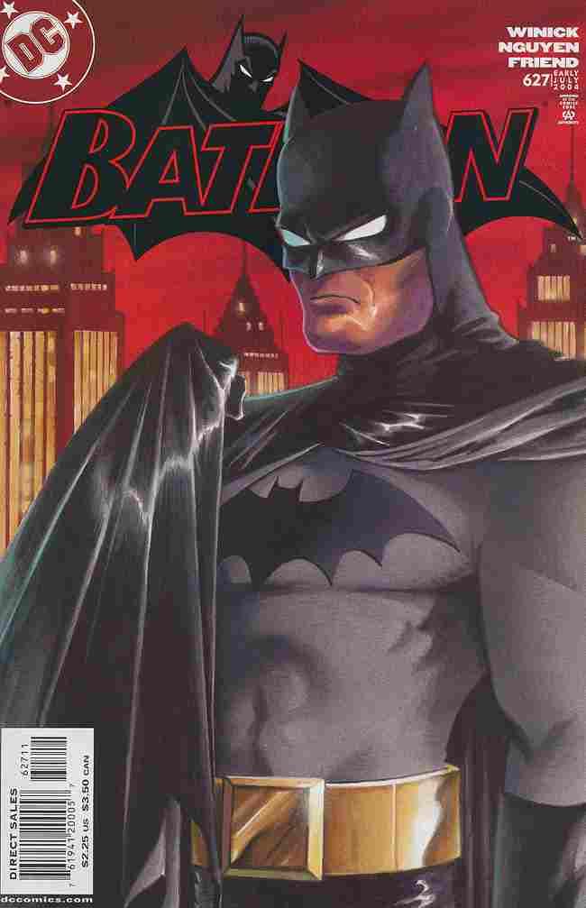Batman comic issue 627