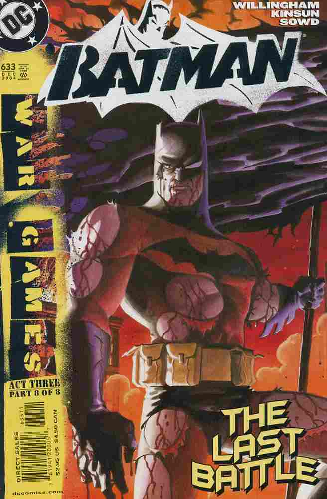 Batman comic issue 633