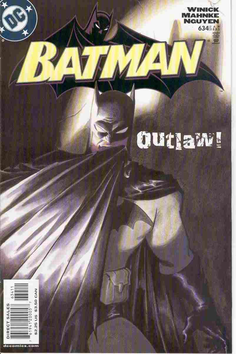 Batman comic issue 634