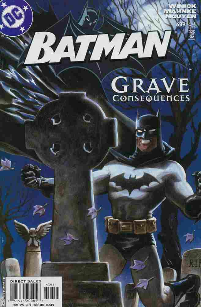 Batman comic issue 639