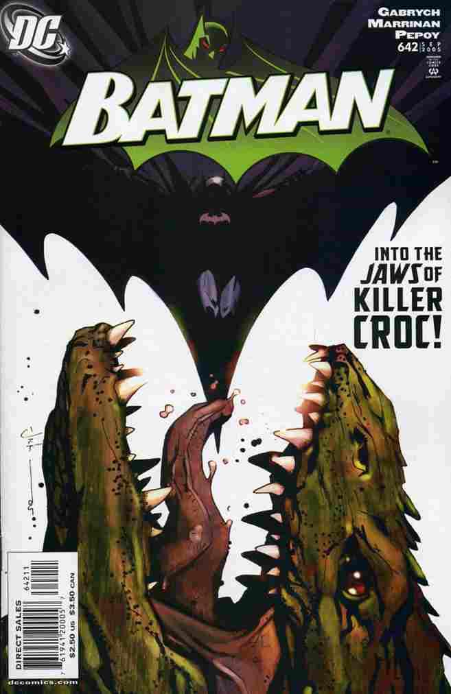Batman comic issue 642