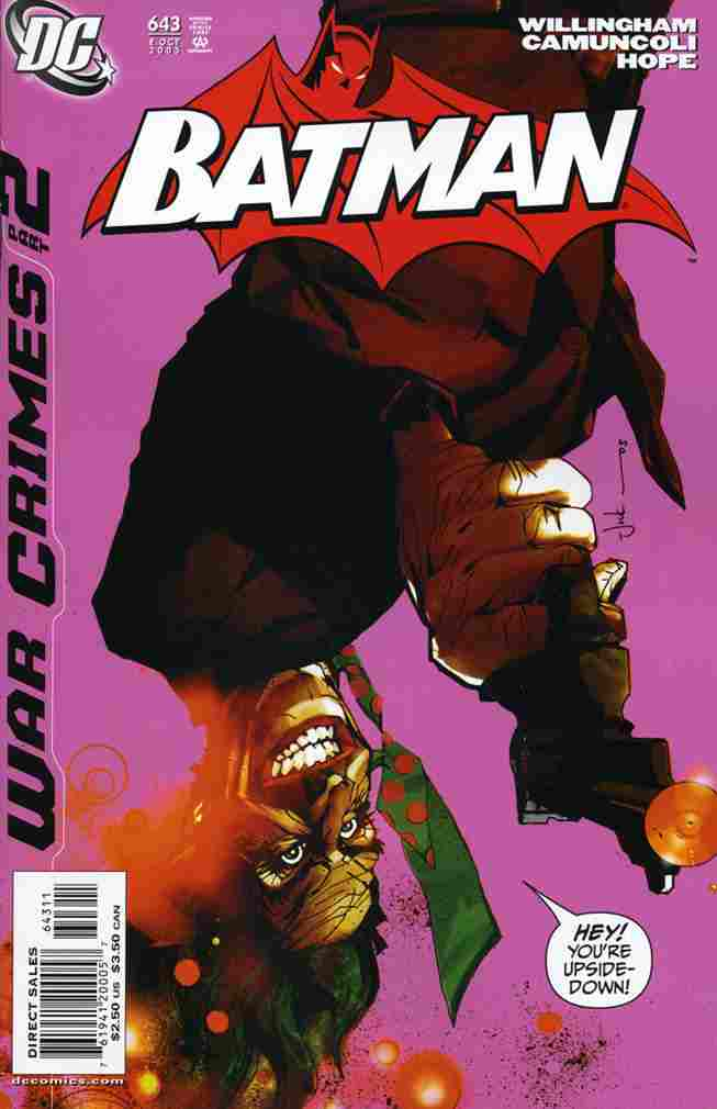 Batman comic issue 643
