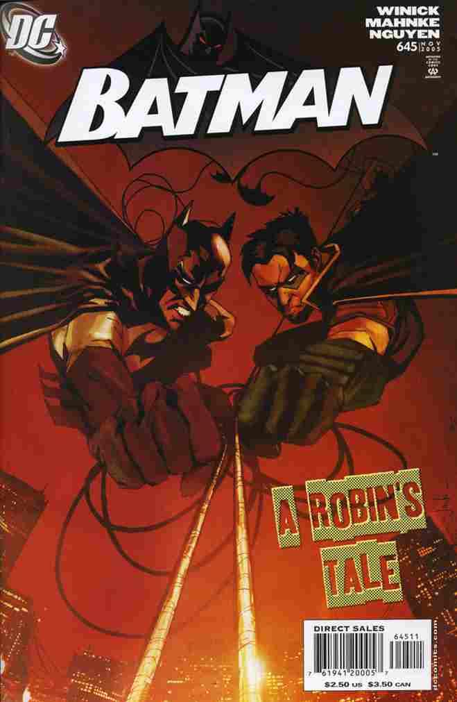 Batman comic issue 645