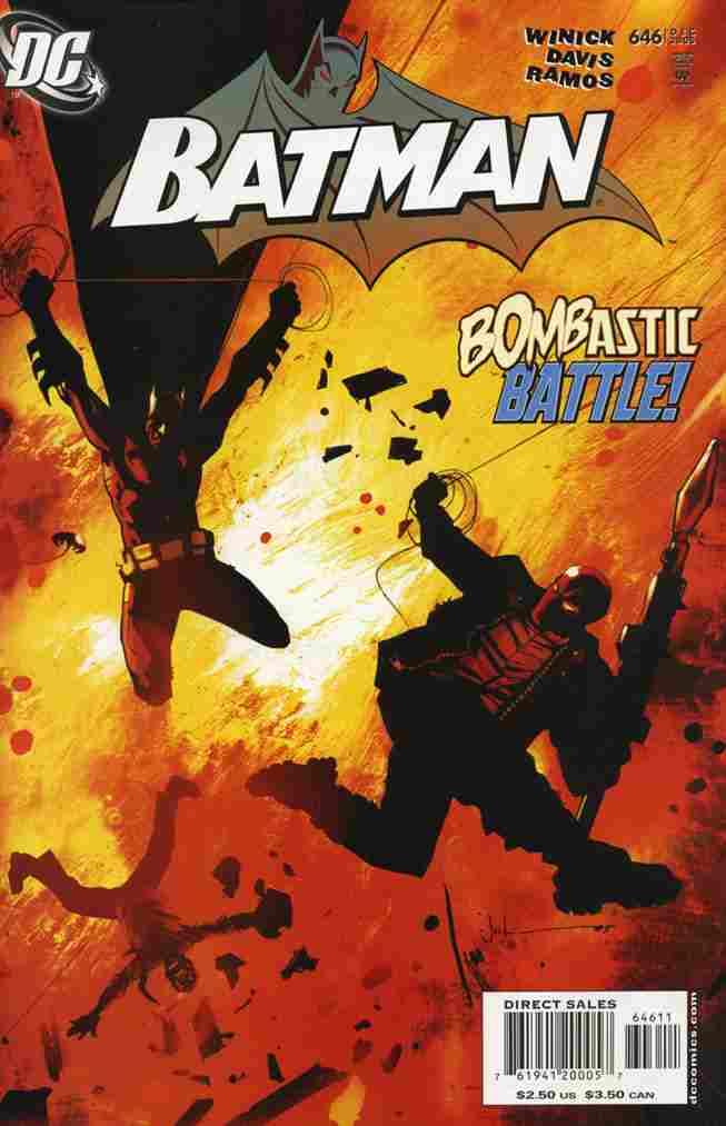 Batman comic issue 646