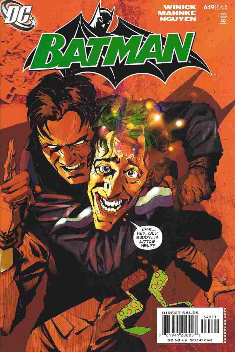 Batman comic issue 649