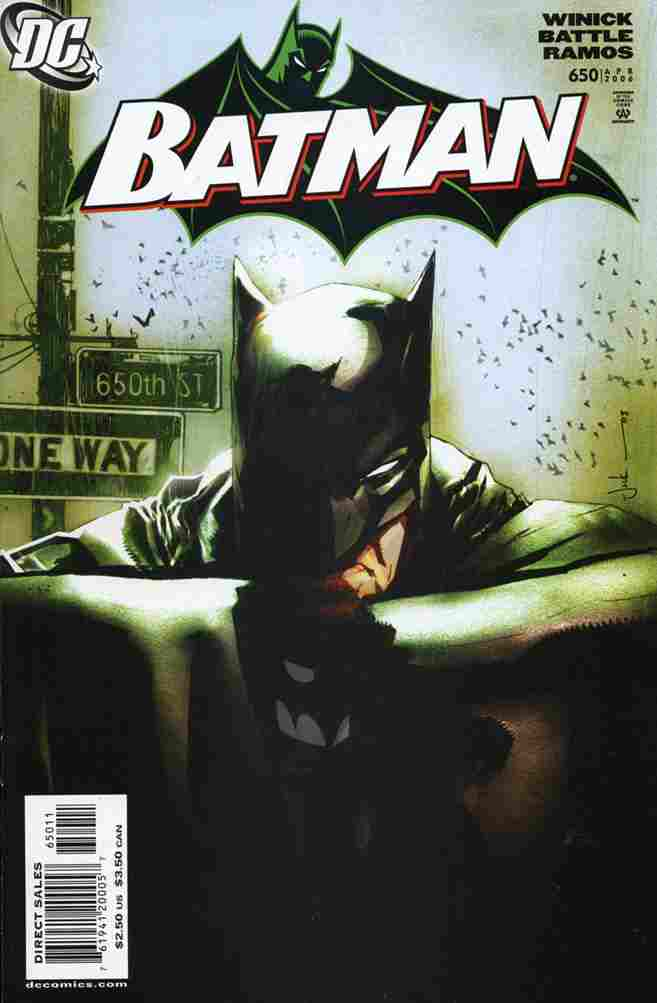 Batman comic issue 650