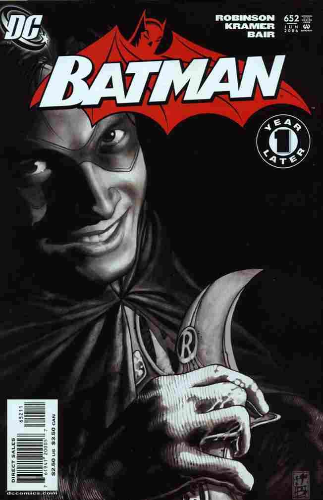 Batman comic issue 652