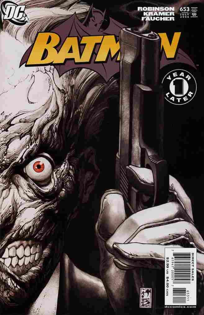 Batman comic issue 653