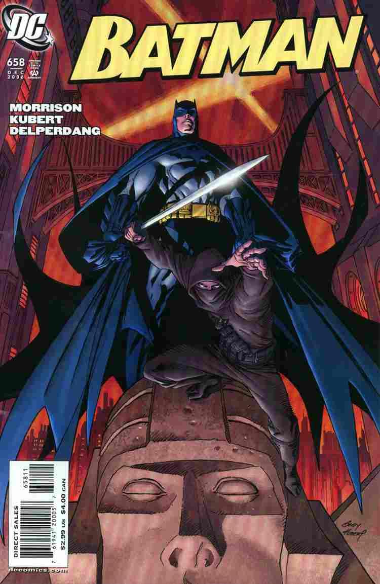 Batman comic issue 658