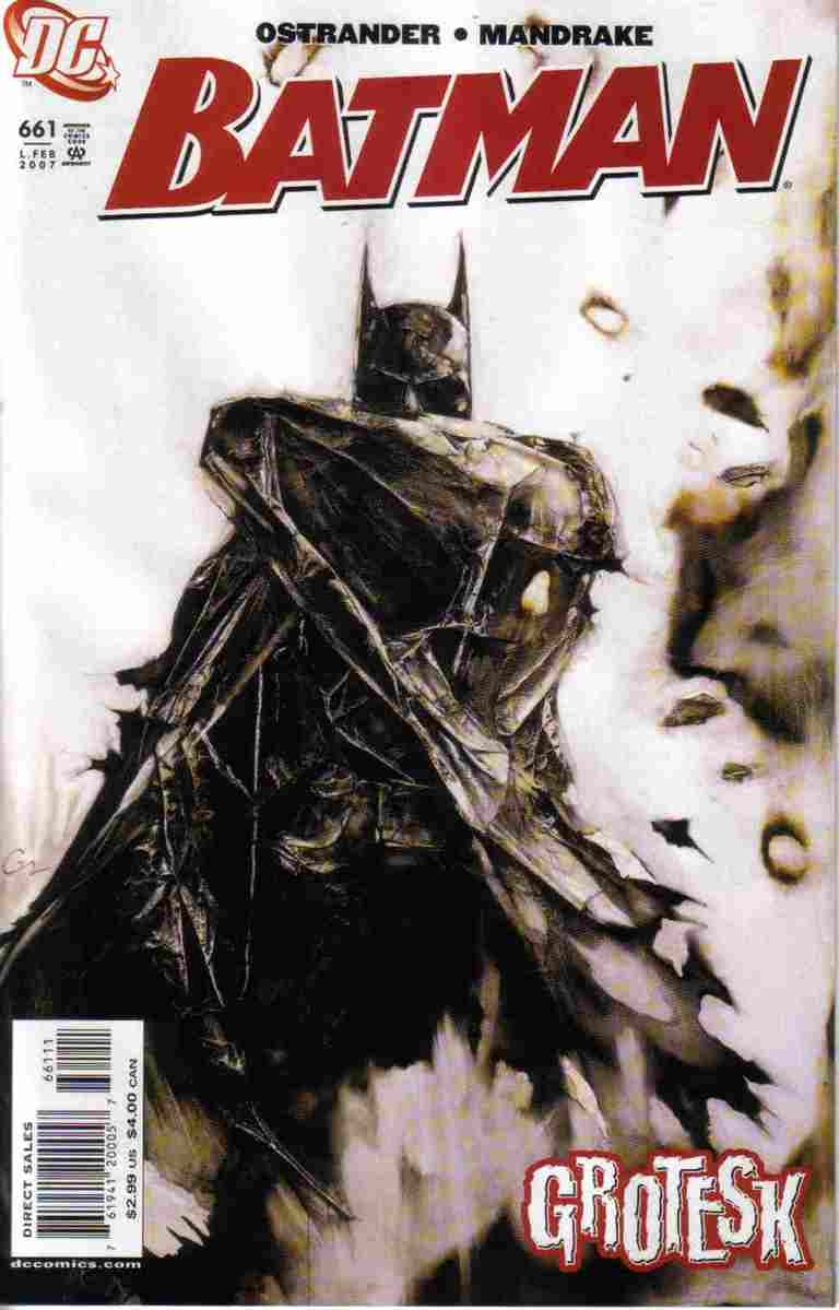 Batman comic issue 661