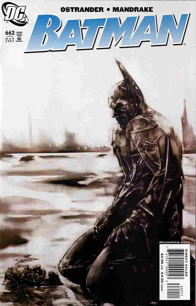 Batman comic issue 662