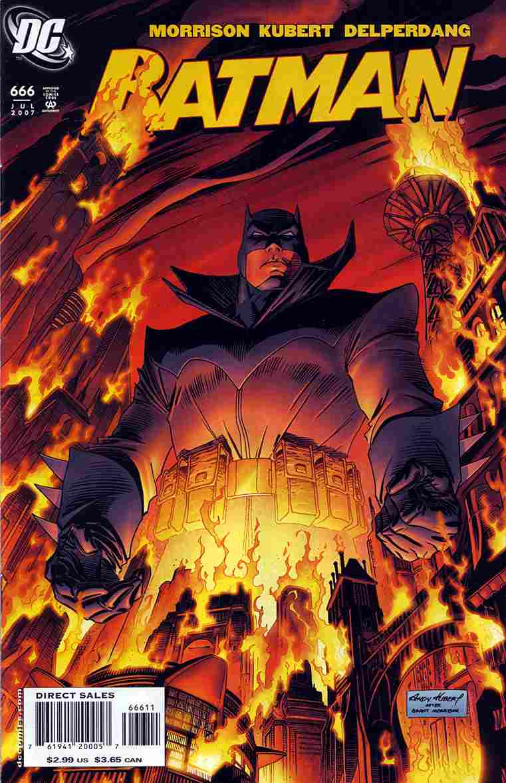 Batman comic issue 666