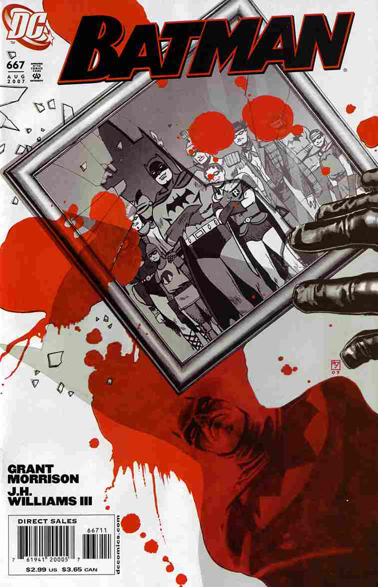 Batman comic issue 667