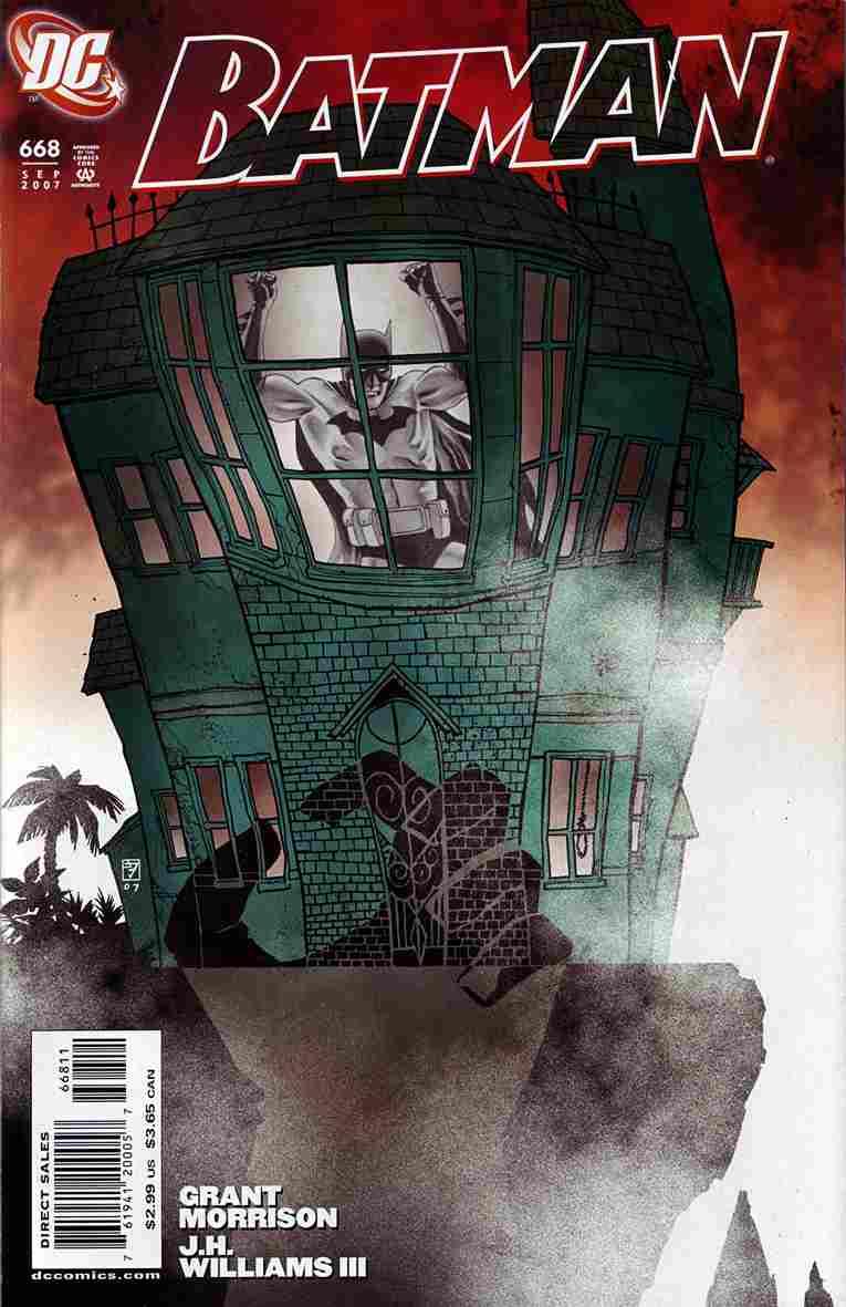 Batman comic issue 668