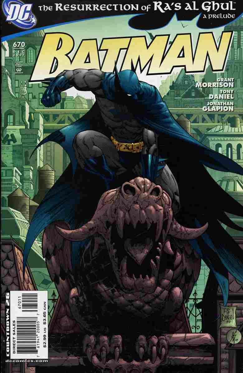 Batman comic issue 670