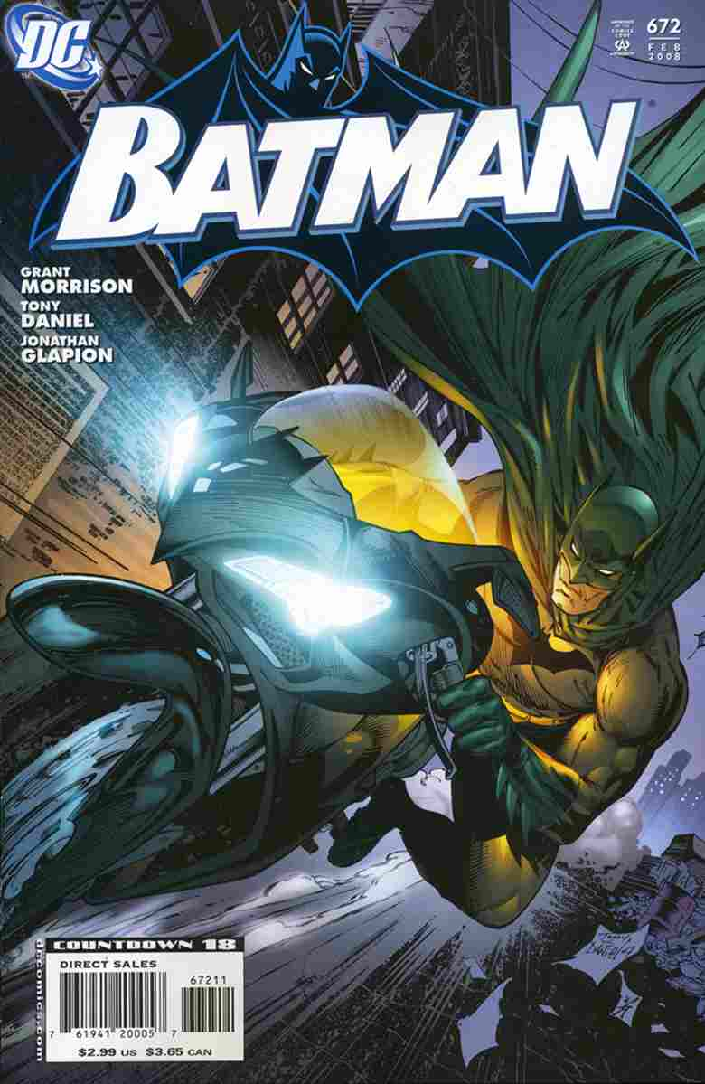 Batman comic issue 672