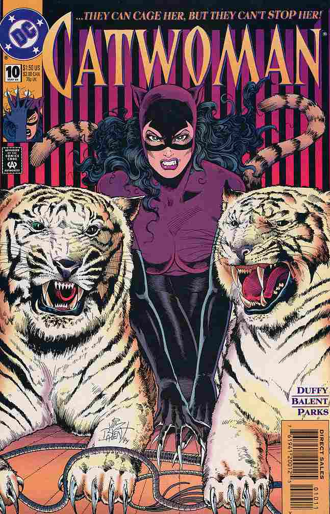 Catwoman (2nd Series) comic issue 10