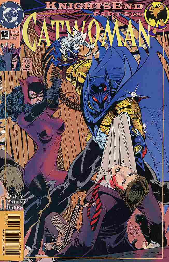 Catwoman (2nd Series) comic issue 12