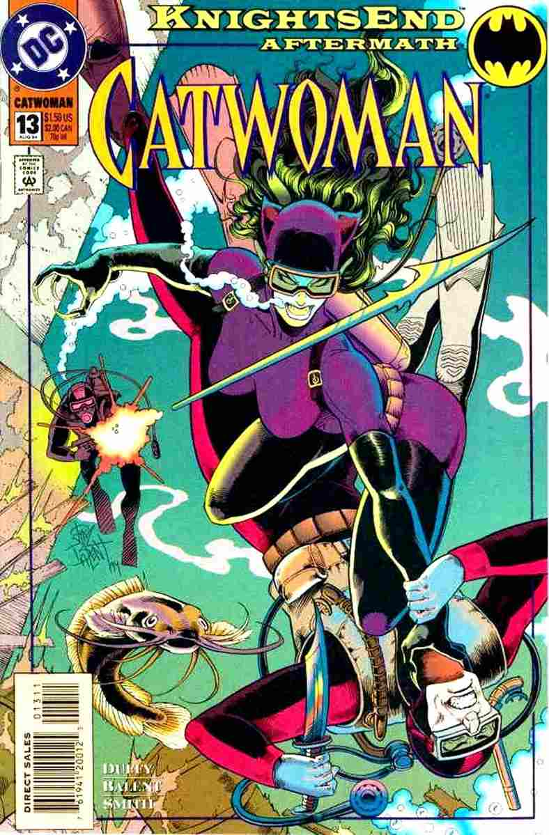 Catwoman (2nd Series) comic issue 13
