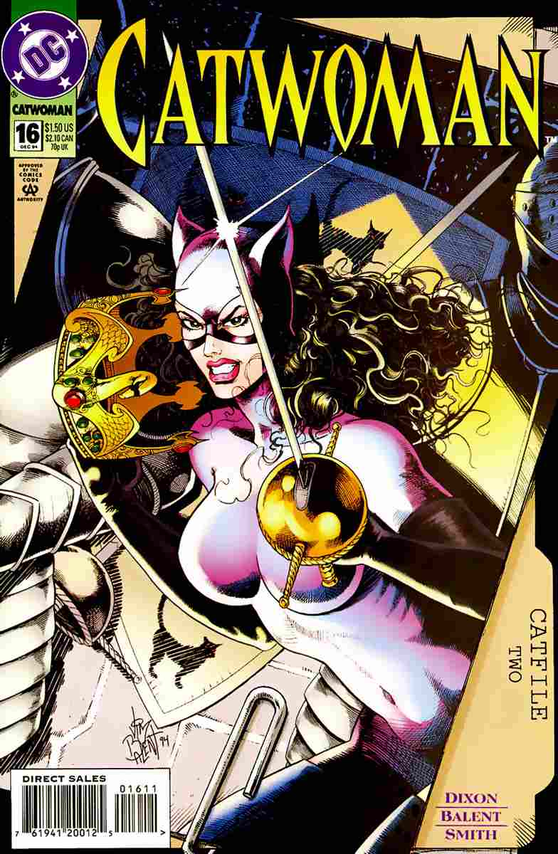 Catwoman (2nd Series) comic issue 16