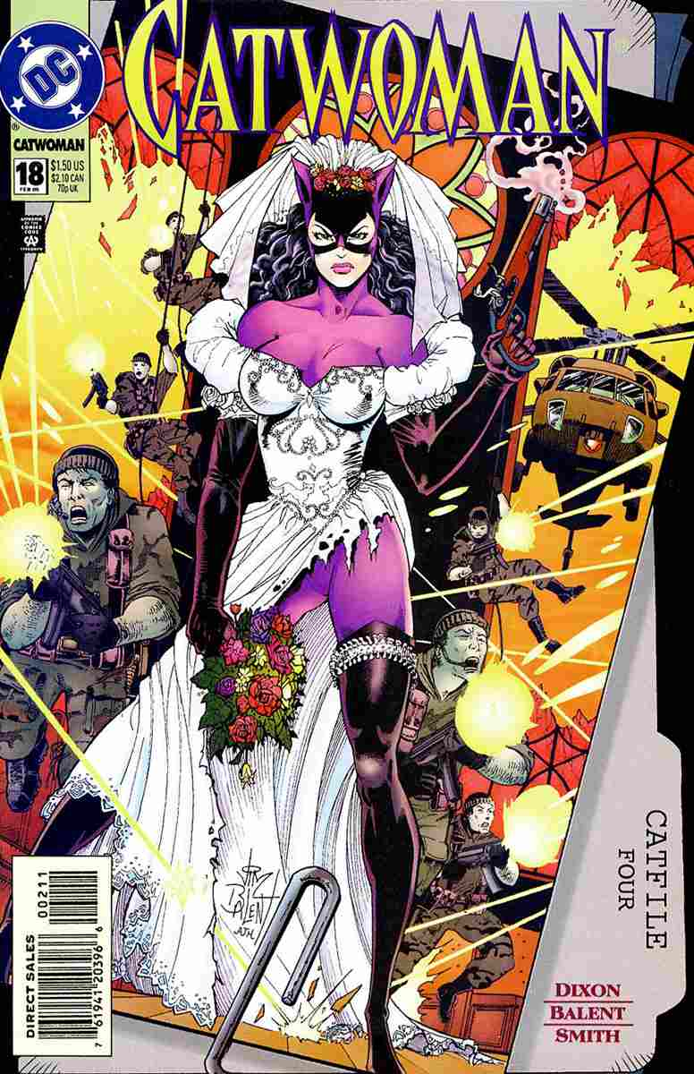 Catwoman (2nd Series) comic issue 18