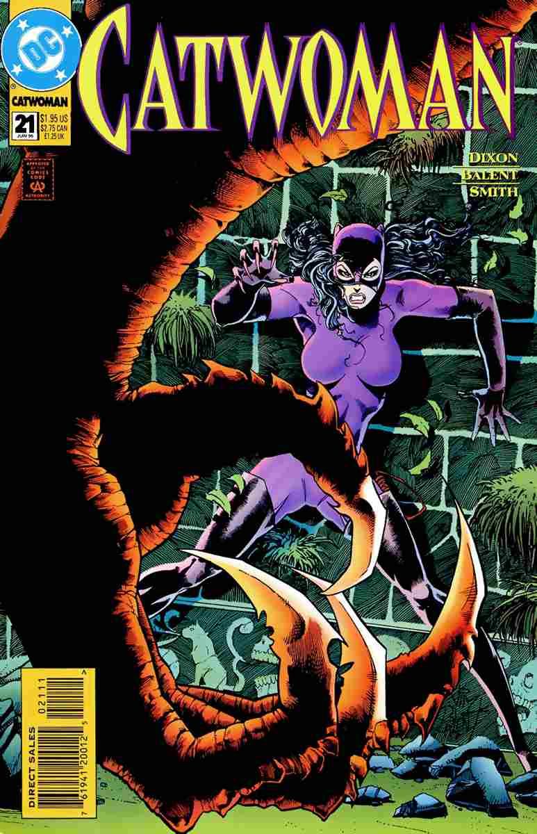 Catwoman (2nd Series) comic issue 21