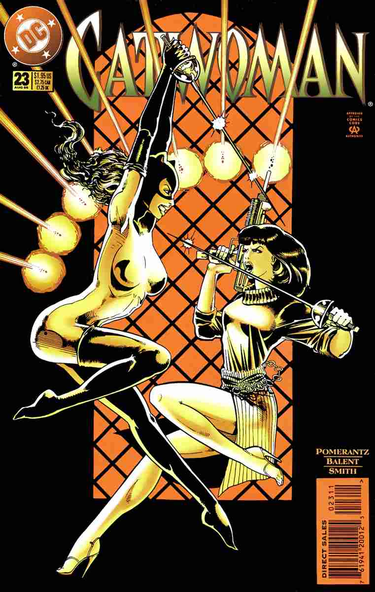 Catwoman (2nd Series) comic issue 23