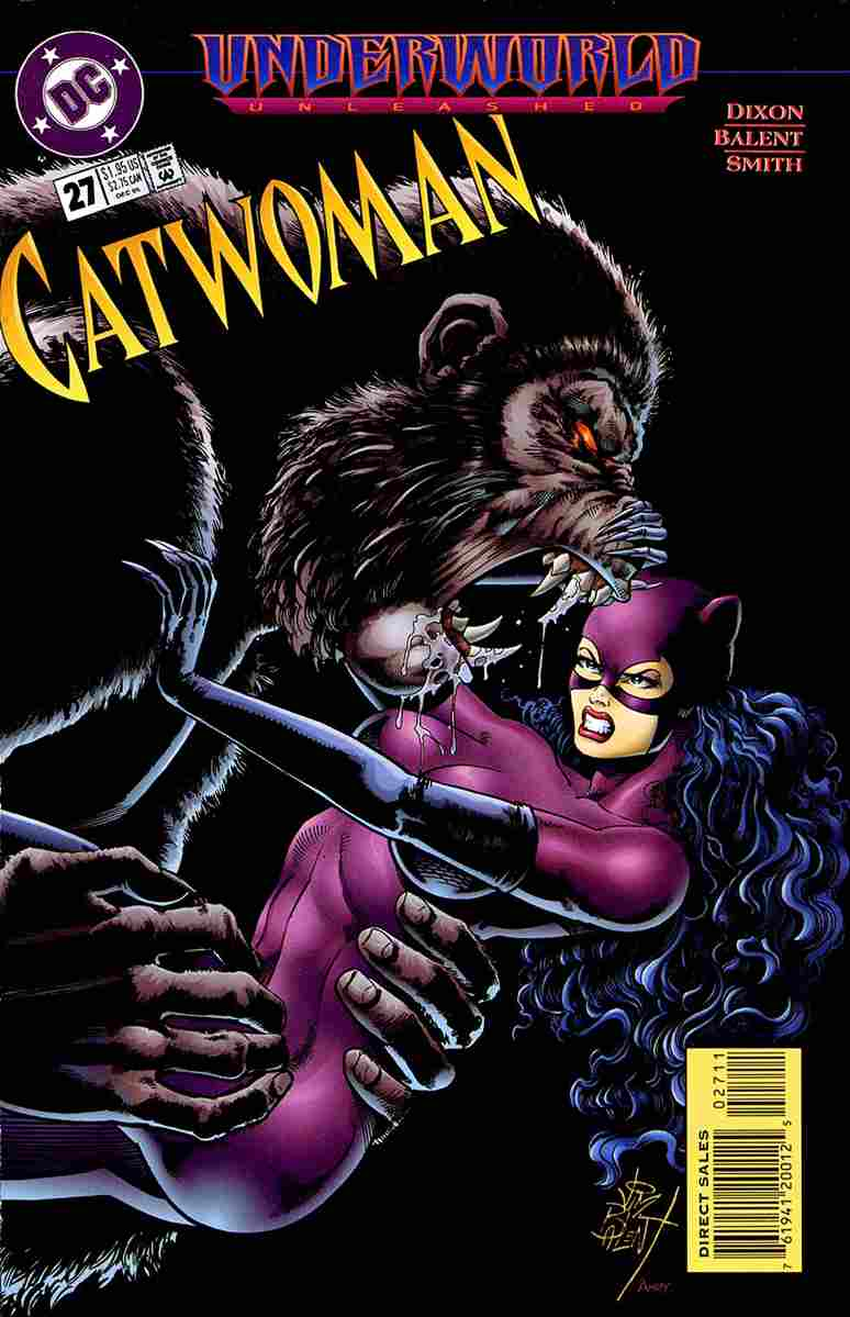 Catwoman (2nd Series) comic issue 27