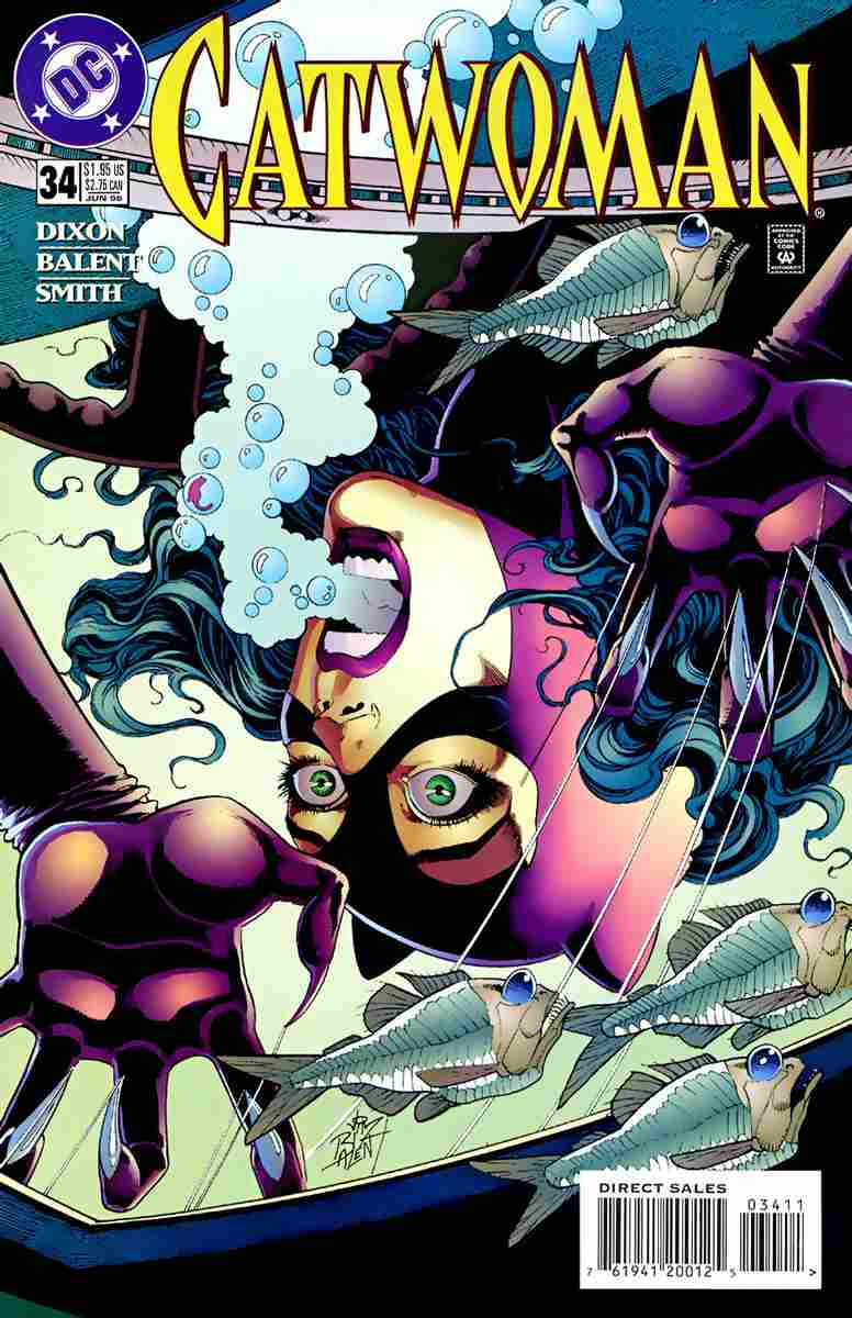 Catwoman (2nd Series) comic issue 34