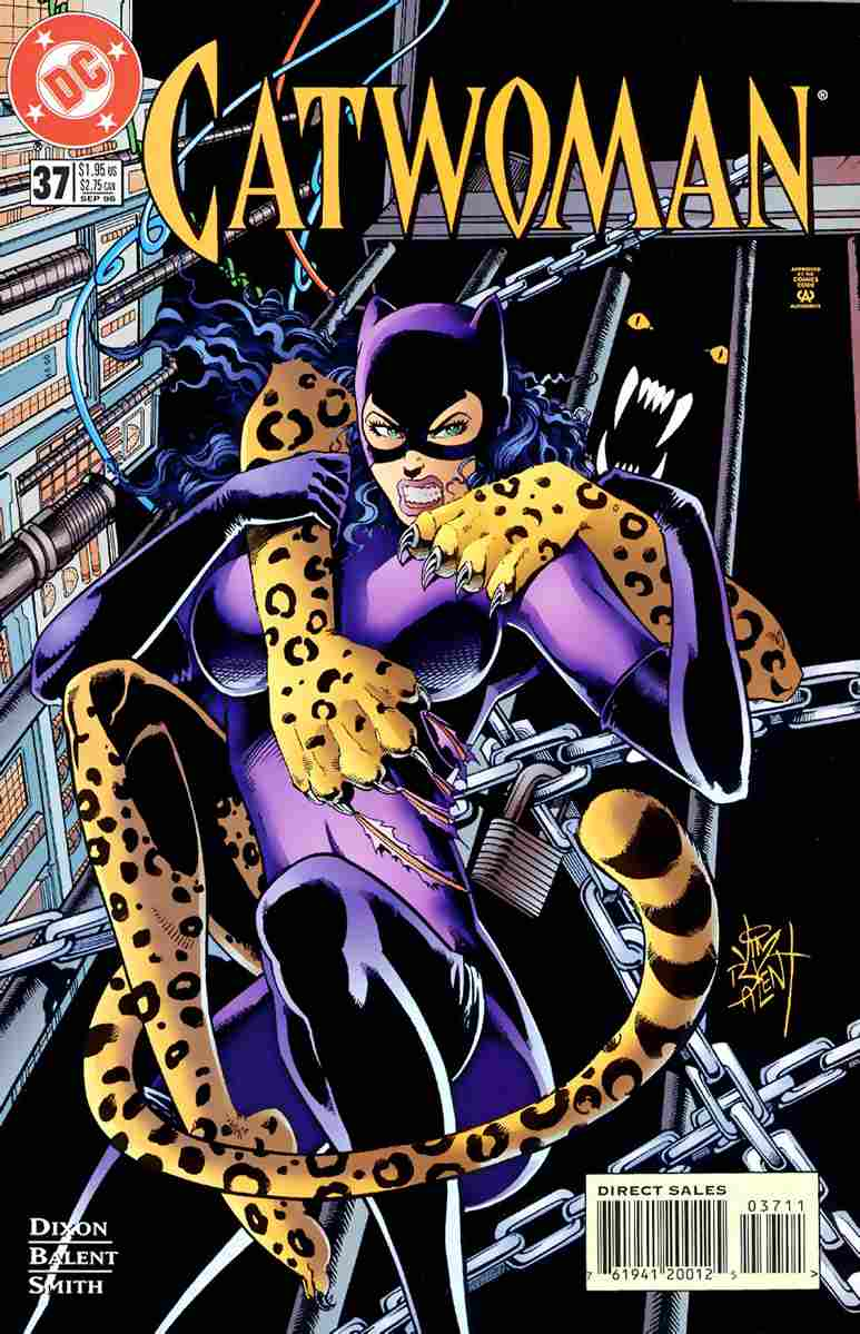 Catwoman (2nd Series) comic issue 37