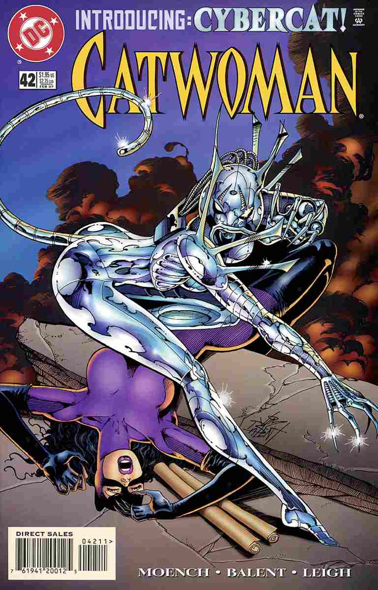Catwoman (2nd Series) comic issue 42