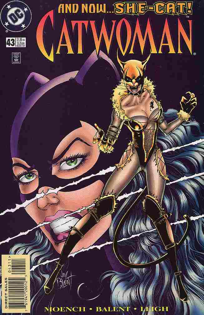 Catwoman (2nd Series) comic issue 43