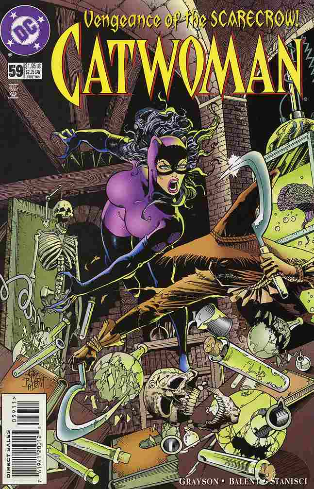 Catwoman (2nd Series) comic issue 59