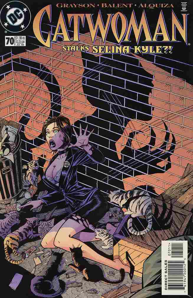 Catwoman (2nd Series) comic issue 70