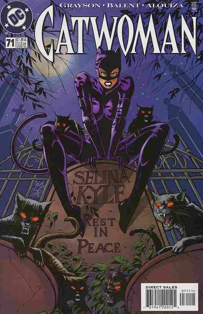 Catwoman (2nd Series) comic issue 71