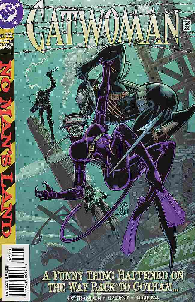 Catwoman (2nd Series) comic issue 72