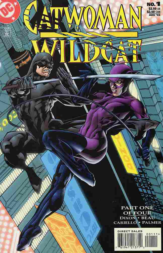 Catwoman/Wildcat comic issue 1