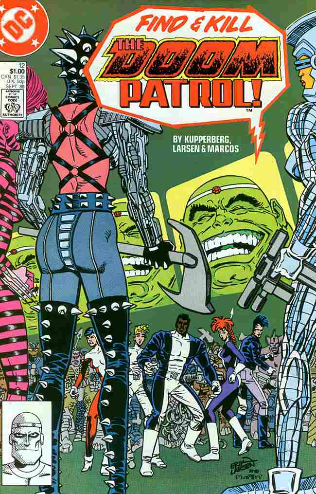 Doom Patrol (2nd Series) comic issue 12