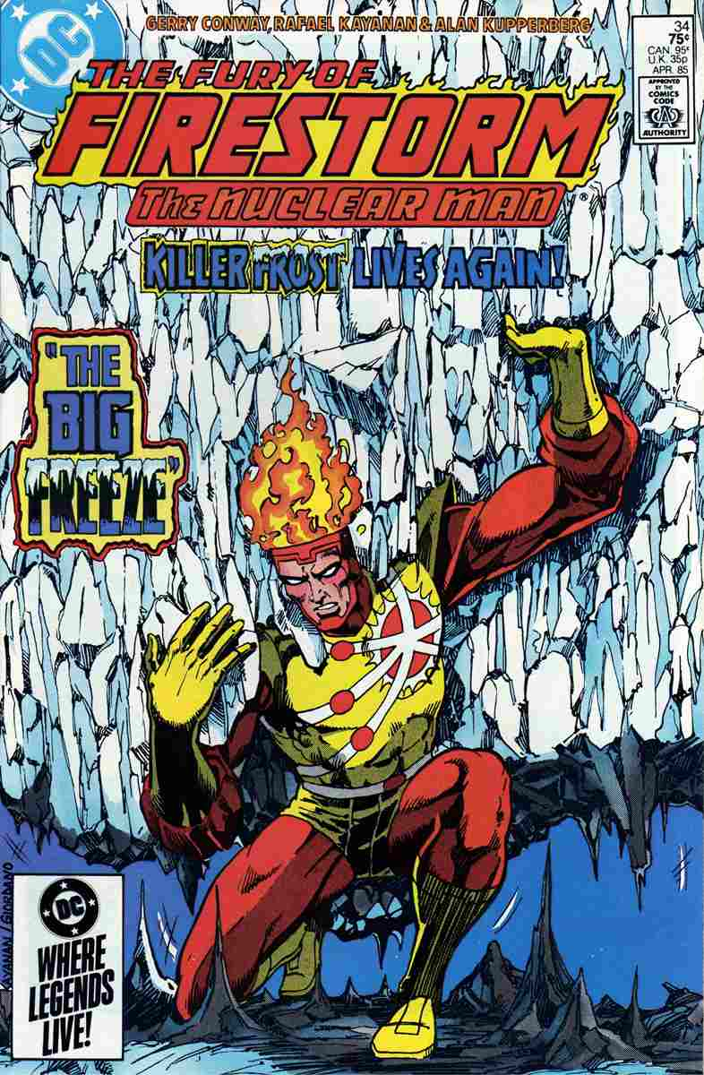 Fury of Firestorm, The comic issue 34