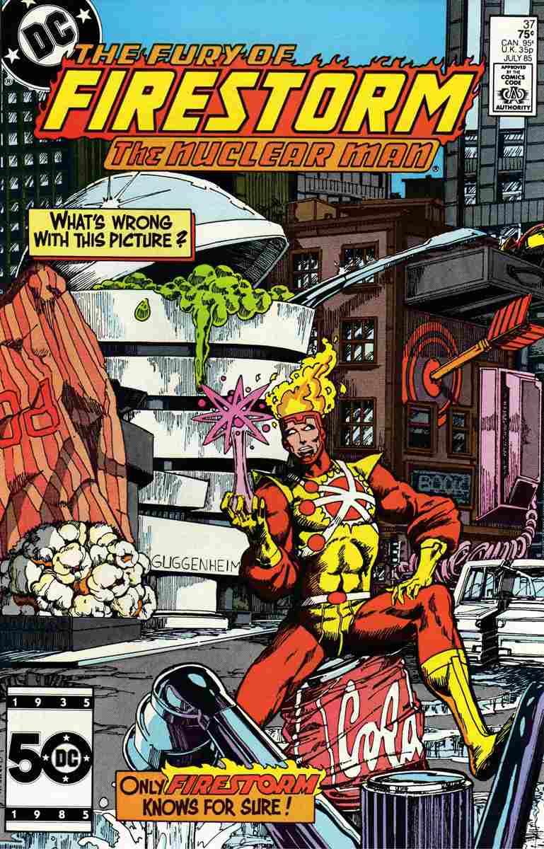 Fury of Firestorm, The comic issue 37