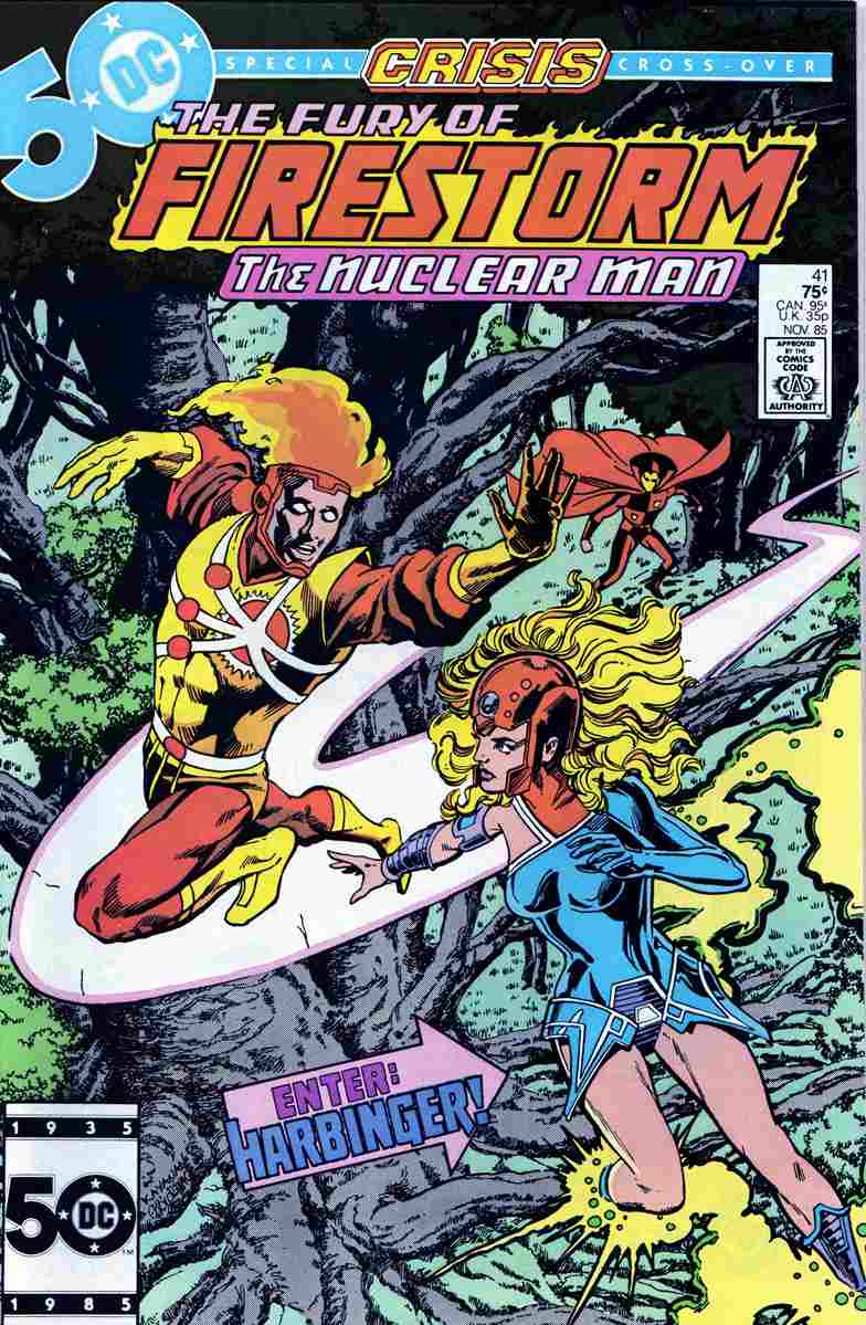 Fury of Firestorm, The comic issue 41