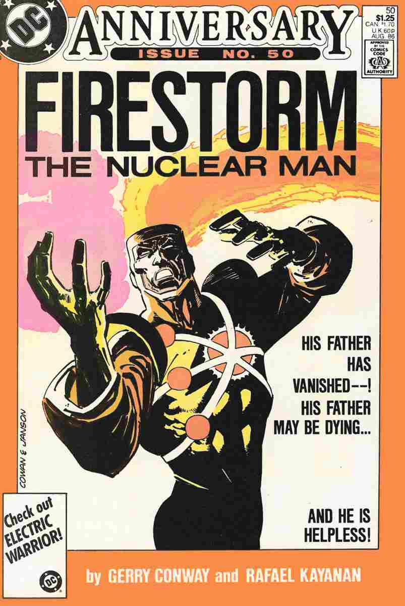 Fury of Firestorm, The comic issue 50