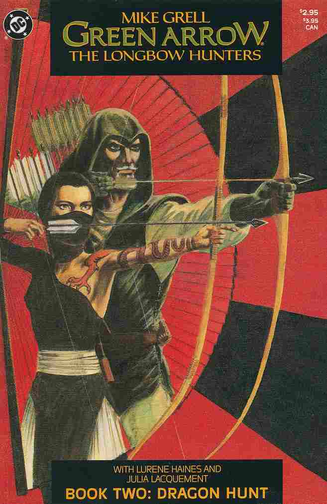 Green Arrow: The Longbow Hunters comic issue 2