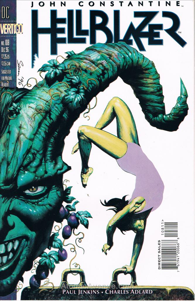 Hellblazer comic issue 108
