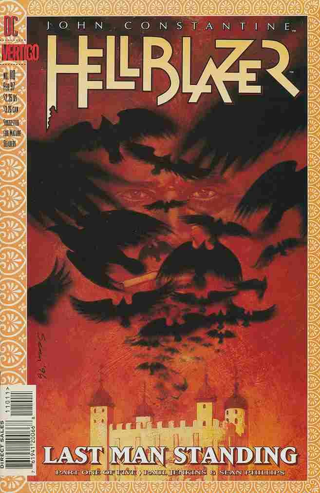 Hellblazer comic issue 110