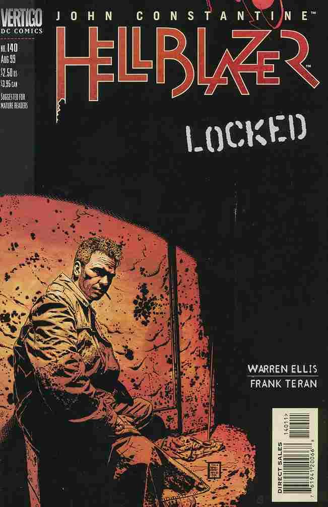 Hellblazer comic issue 140