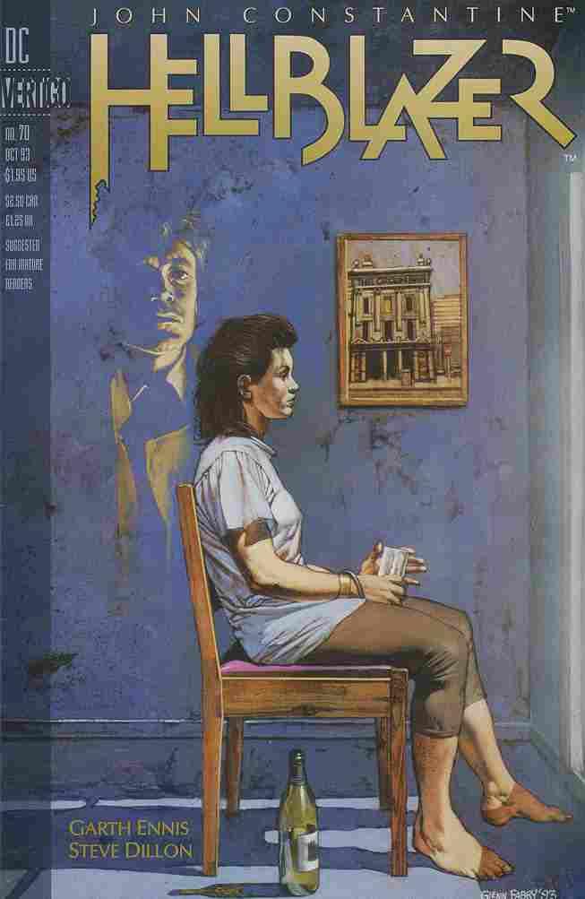 Hellblazer comic issue 70
