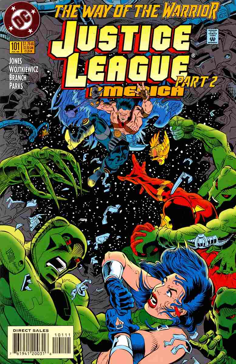 Justice League America comic issue 101