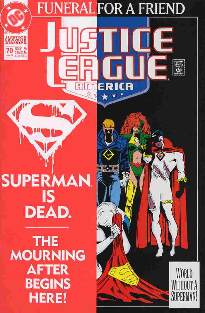 Justice League America comic issue 70